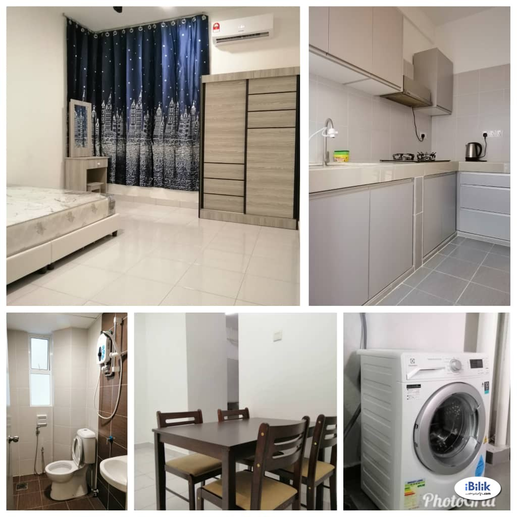 M3 Residency - Fully Furnished Air Cond Single Room!!! Offer Price Only RM490!!!!