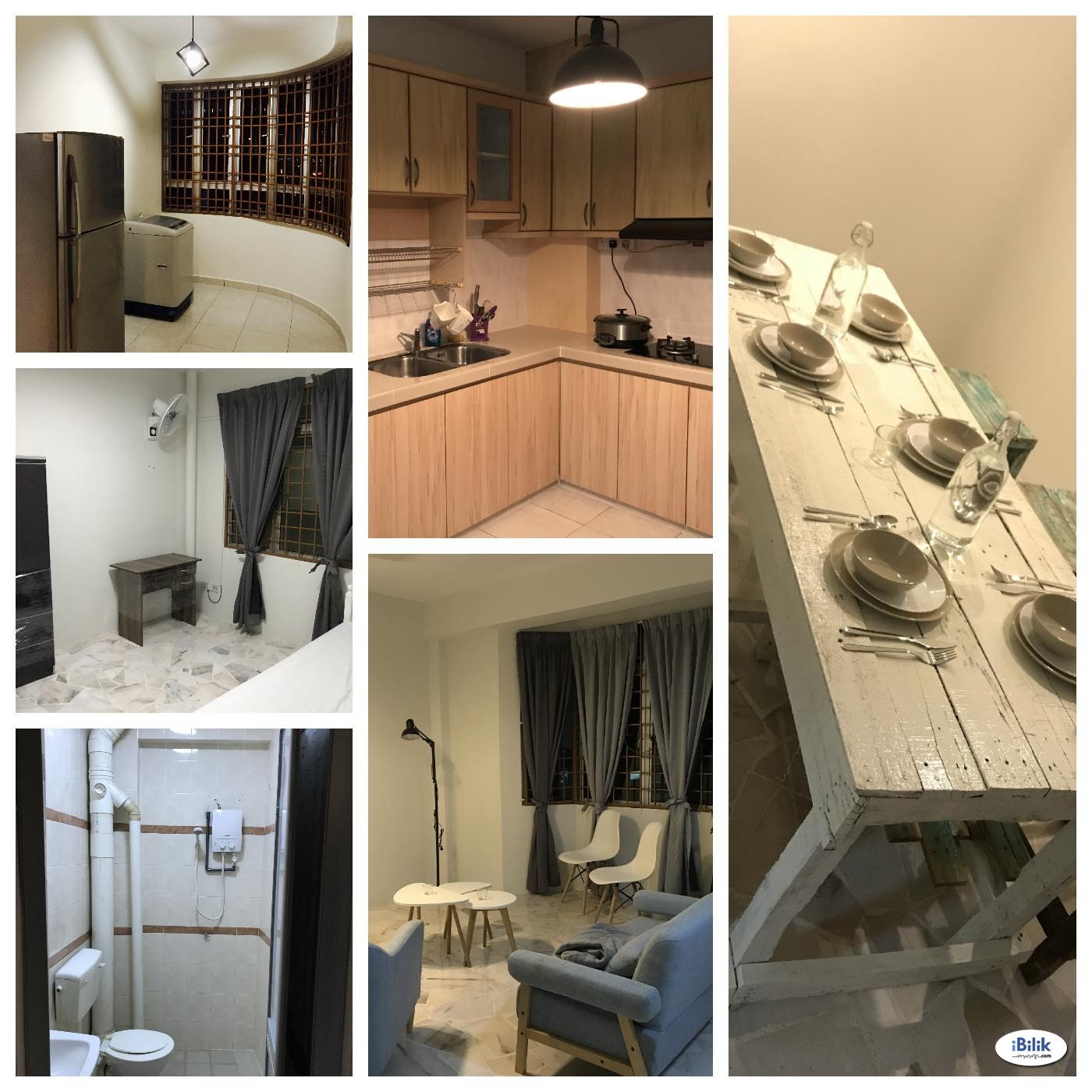 Fully Furnished Middle Room at Butterworth, Seberang Perai