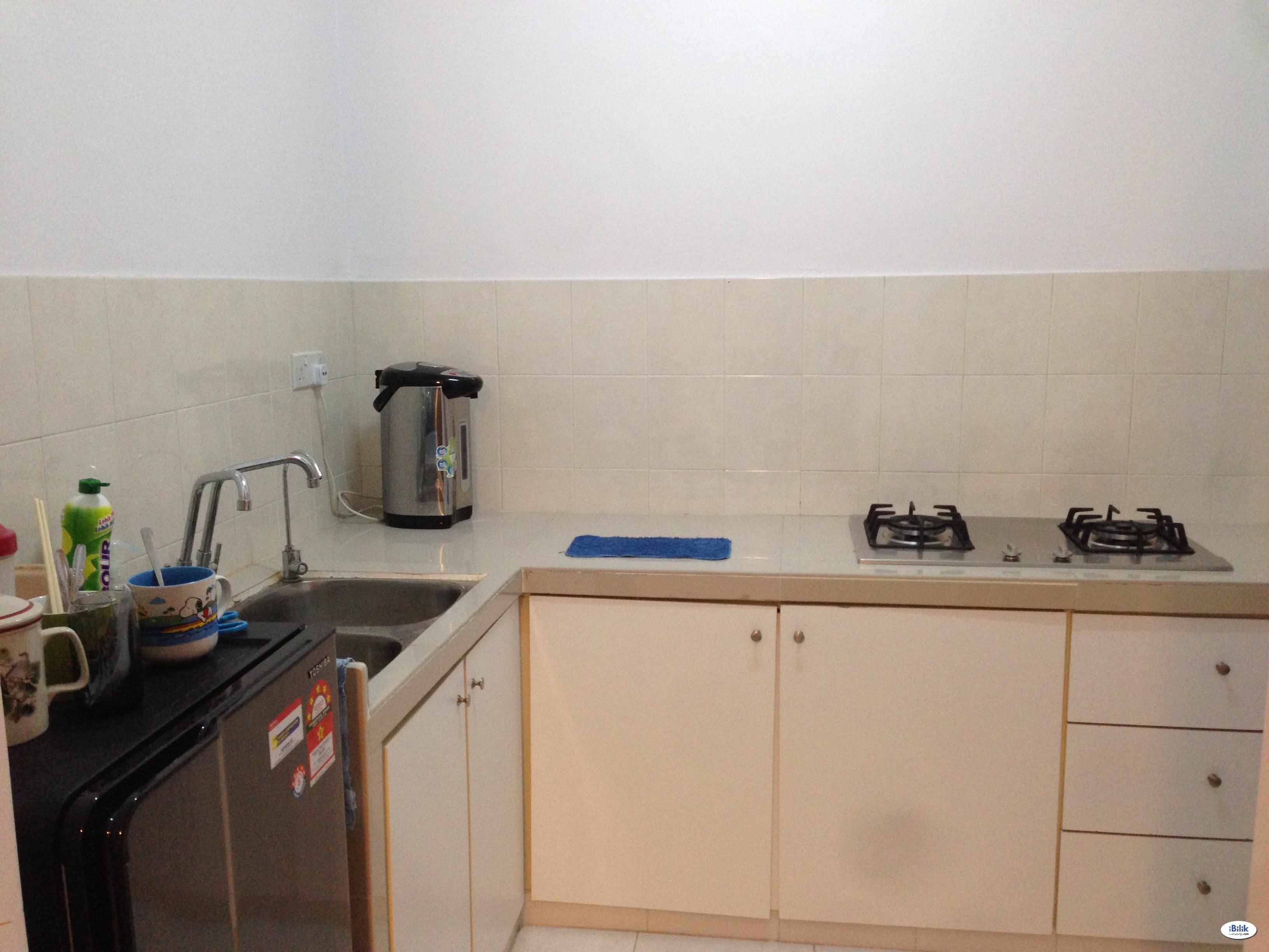Master Room-Included Utilities-Karpal Singh Drive, Condo Air Cond Furnished Room For RENT!!
