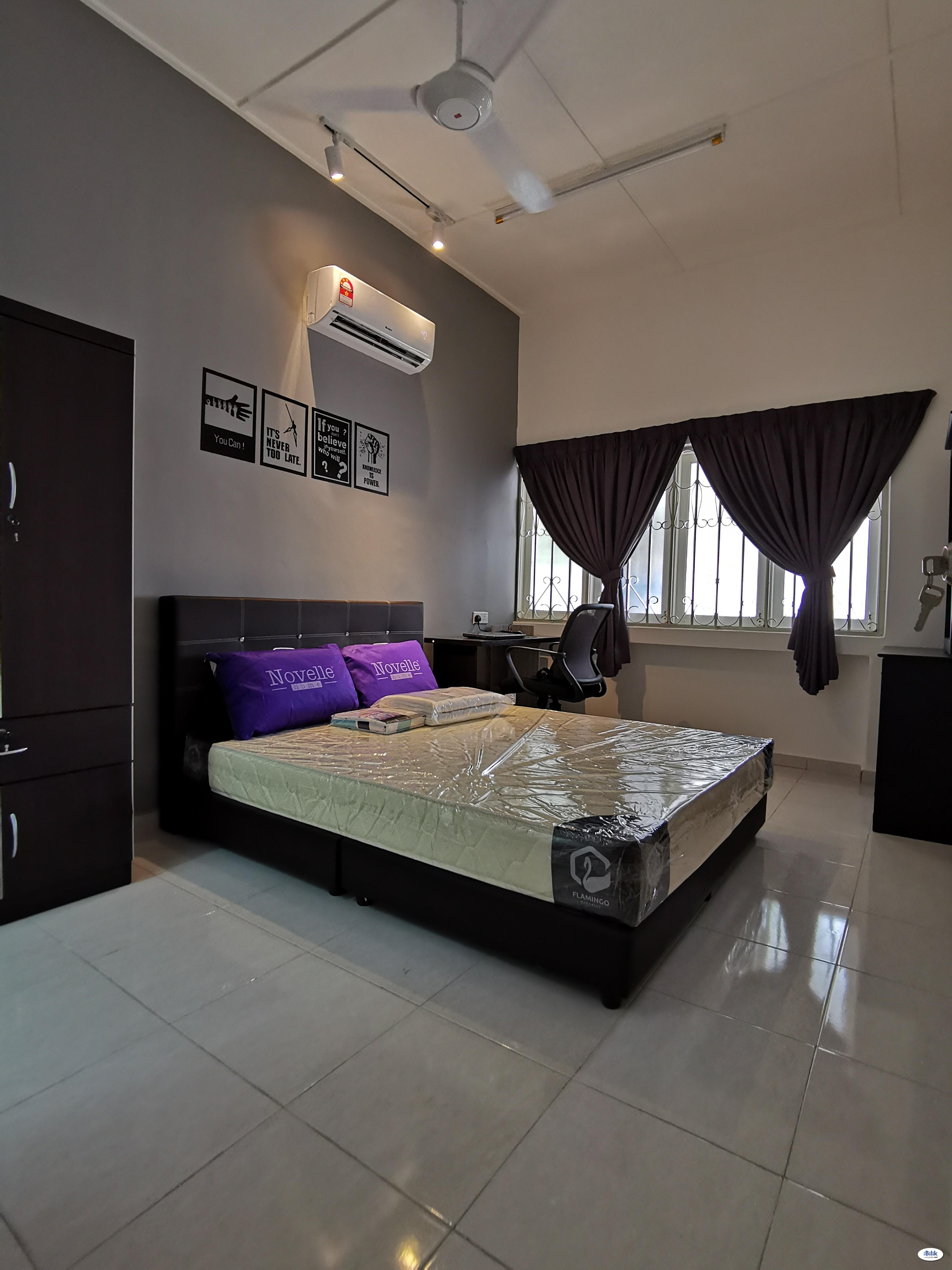 Newly Renovated Single Room at Ayer Keroh, Melaka