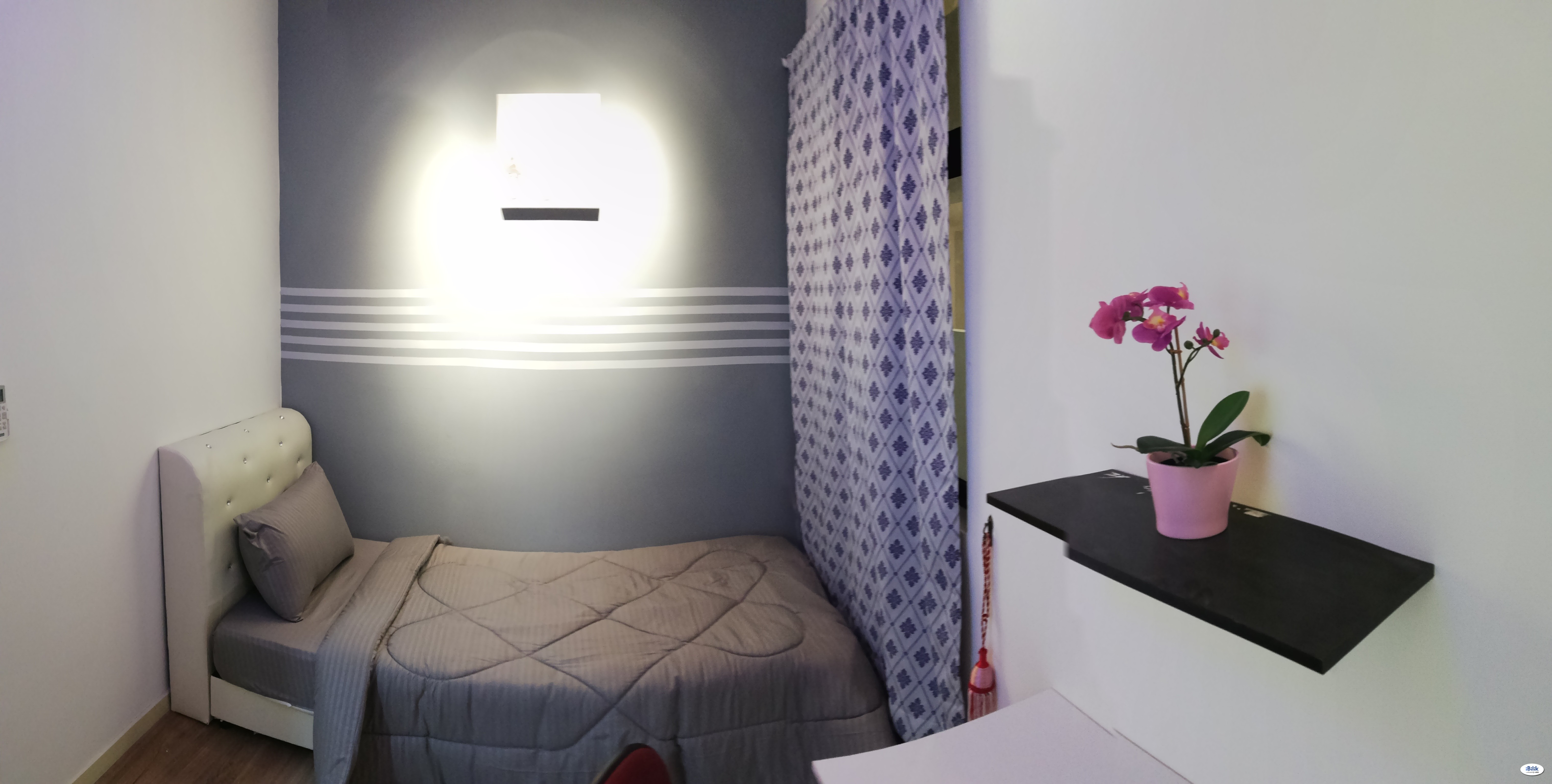 INCLUDED UTILITIES [AFFORDABLE ROOM] Premium Single Room WITH FREE WIFI & H/KEEPING !!