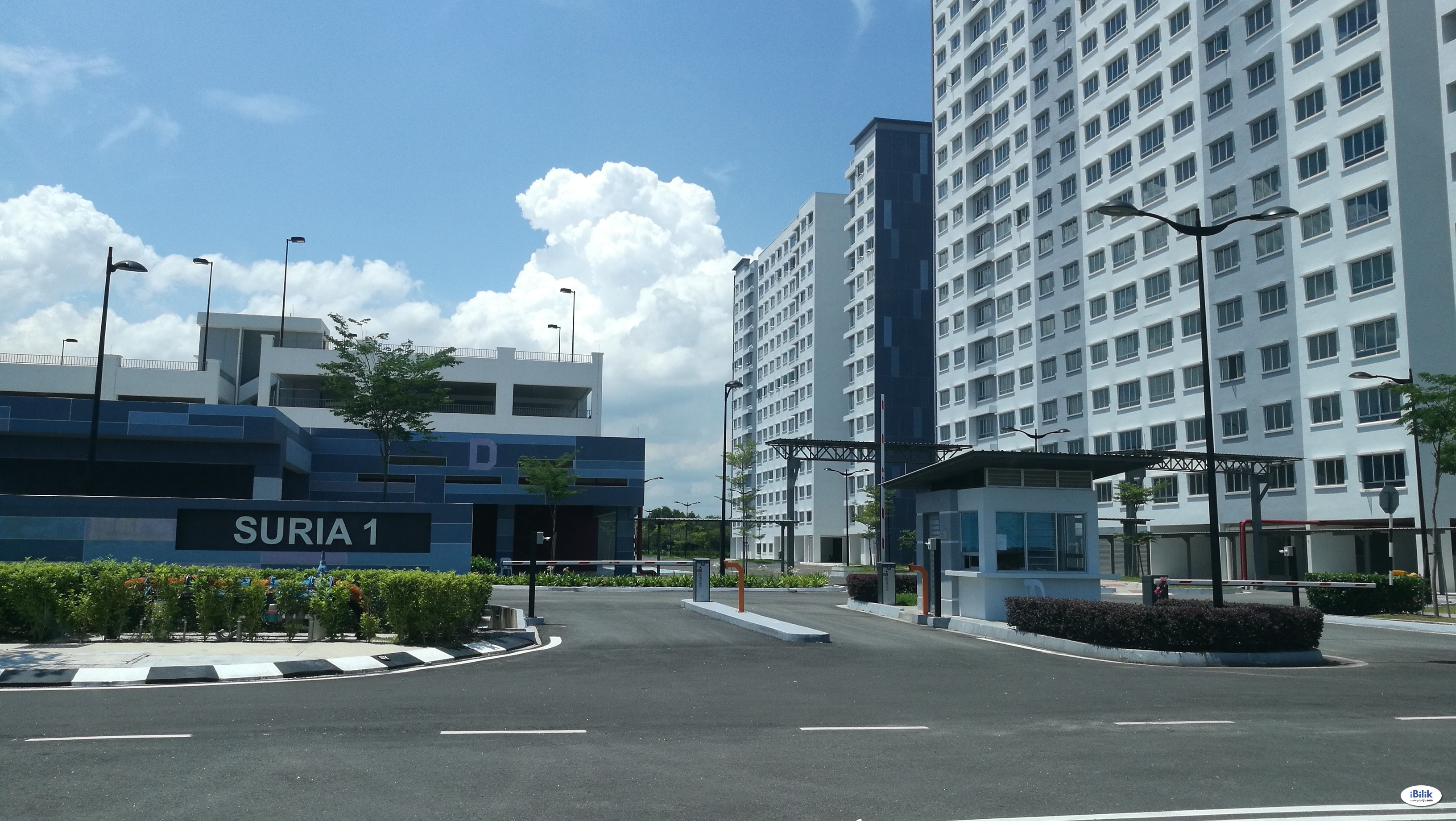 Bandar Cassia - Fully Furnish Single  Room at pangsapuri suria 1 Batu Kawan