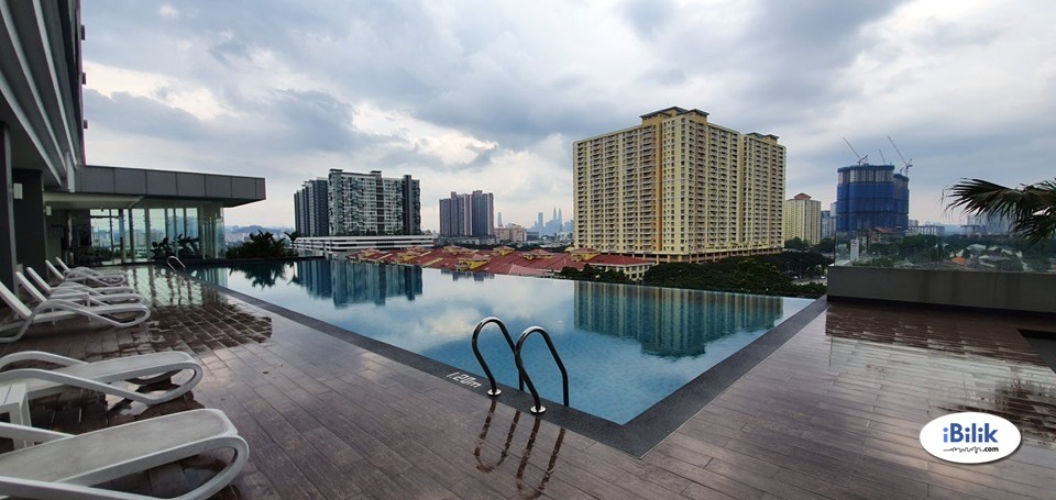 Setapak[Fully-Furnished]Room@Setapak, Danau Kota/Pv12/Pv15 Nearby TARUC/McD/Setapak Central Mall