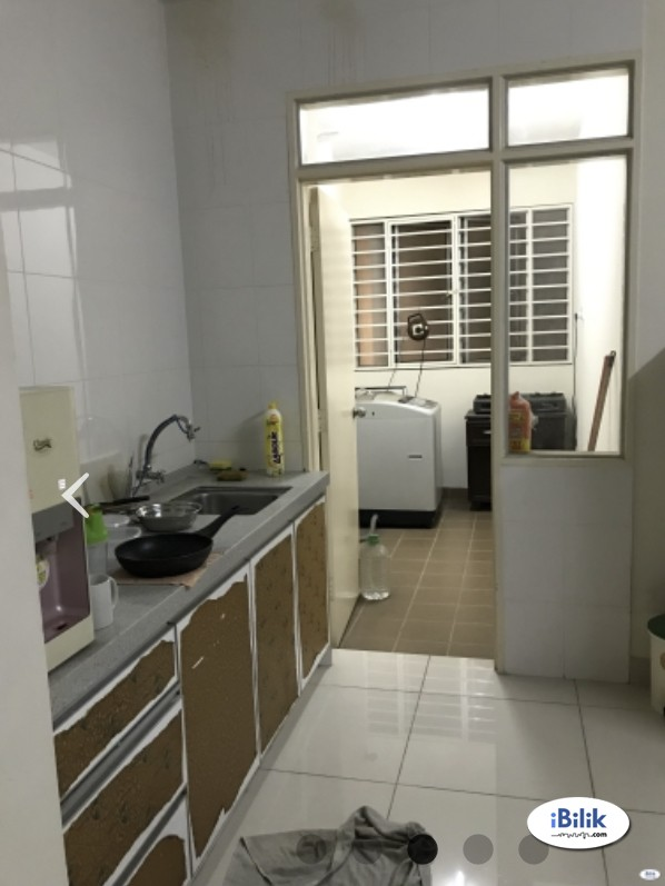 Single Room at Platinum Hill PV2, Setapak