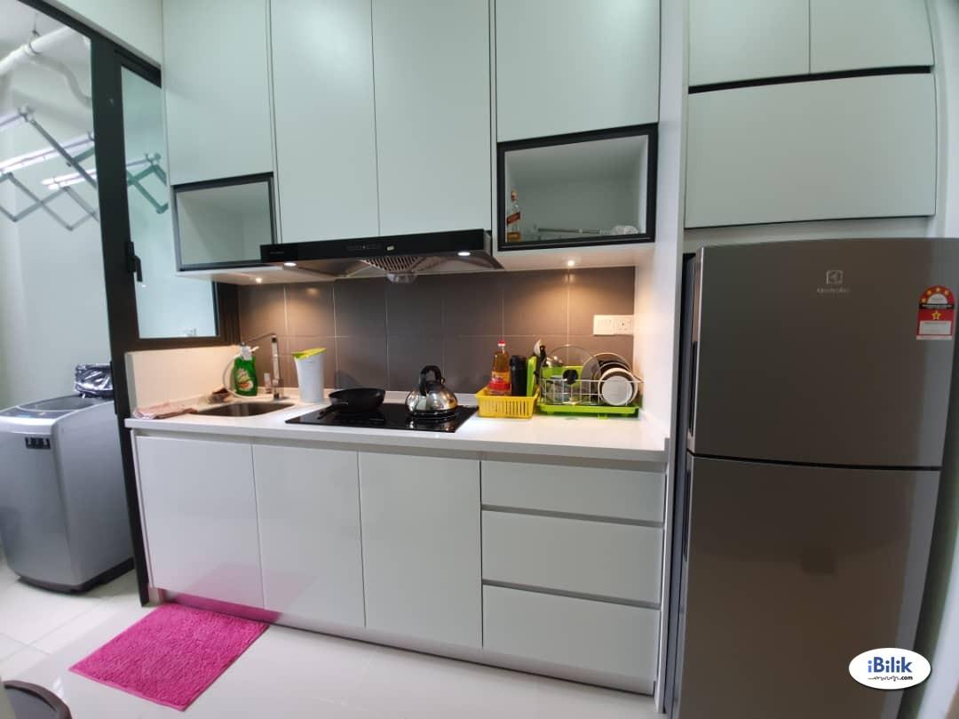 [Beautiful Single Room for Rent @ Danau Kota Suites Setapak nearby TARUC, KLCC, PV128, MacD, Bus Stop & Melati LRT]