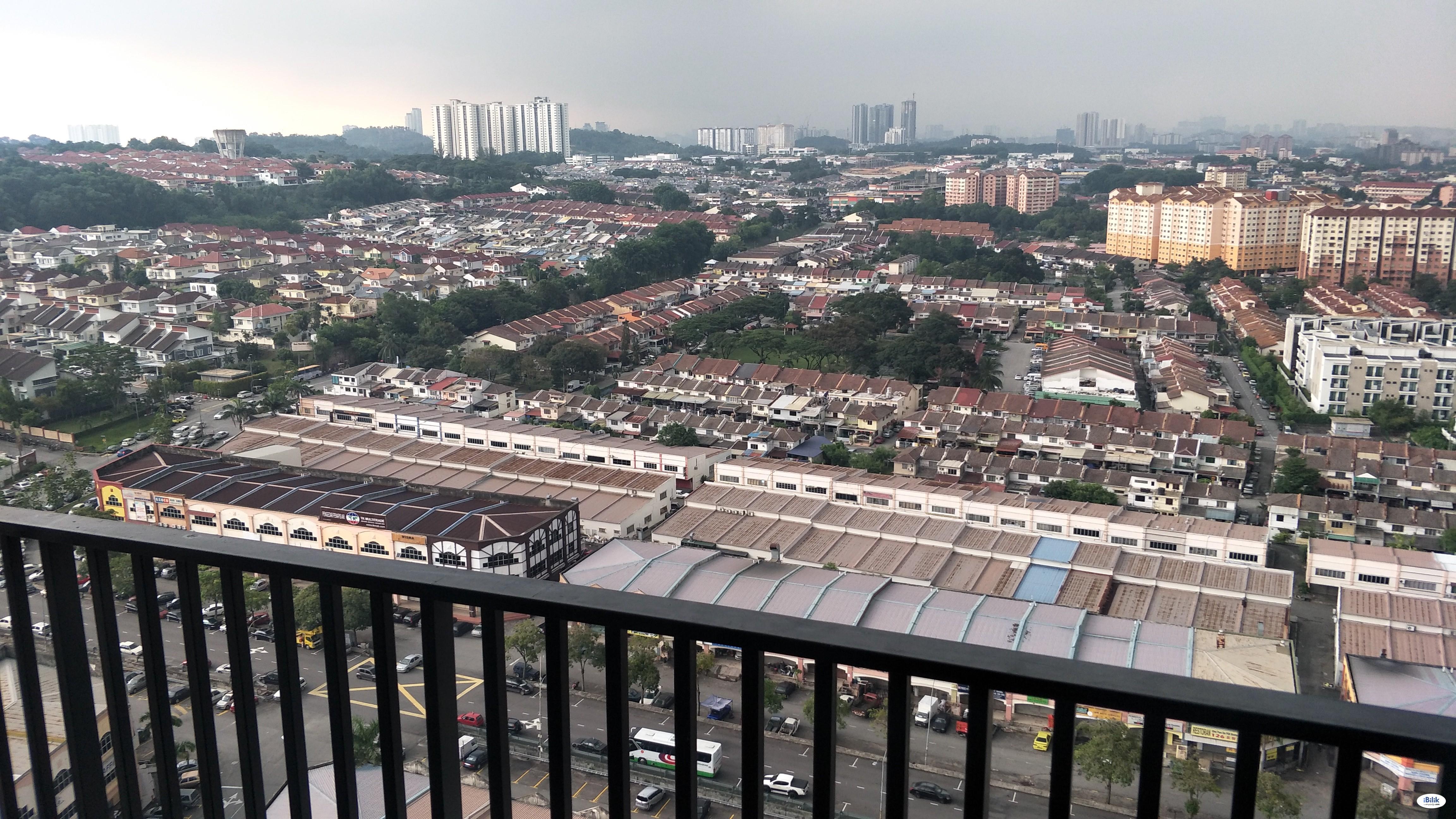 SK 1 Residensi Serviced apartment Master Room at Seri Kembangan, Selangor