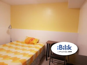 Available Rooms Rent with Great Location at Bukit Jalil With High Speed WiFi