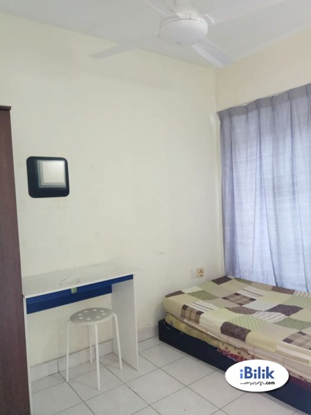 Single Room Taman Megah Emas 1, Kelana Jaya With WiFi