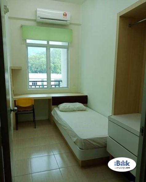 [ 30 DAYS RESERVATION ] Middle Room For Rent At Puchong, Bandar Puchong Jaya Walking Distance To IOI Puchong Jaya LRT STATION