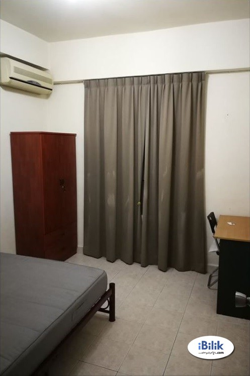 Fully Furnished Middle Room At Bangsar Park, Kuala Lumpur With 100MBPS WIFI