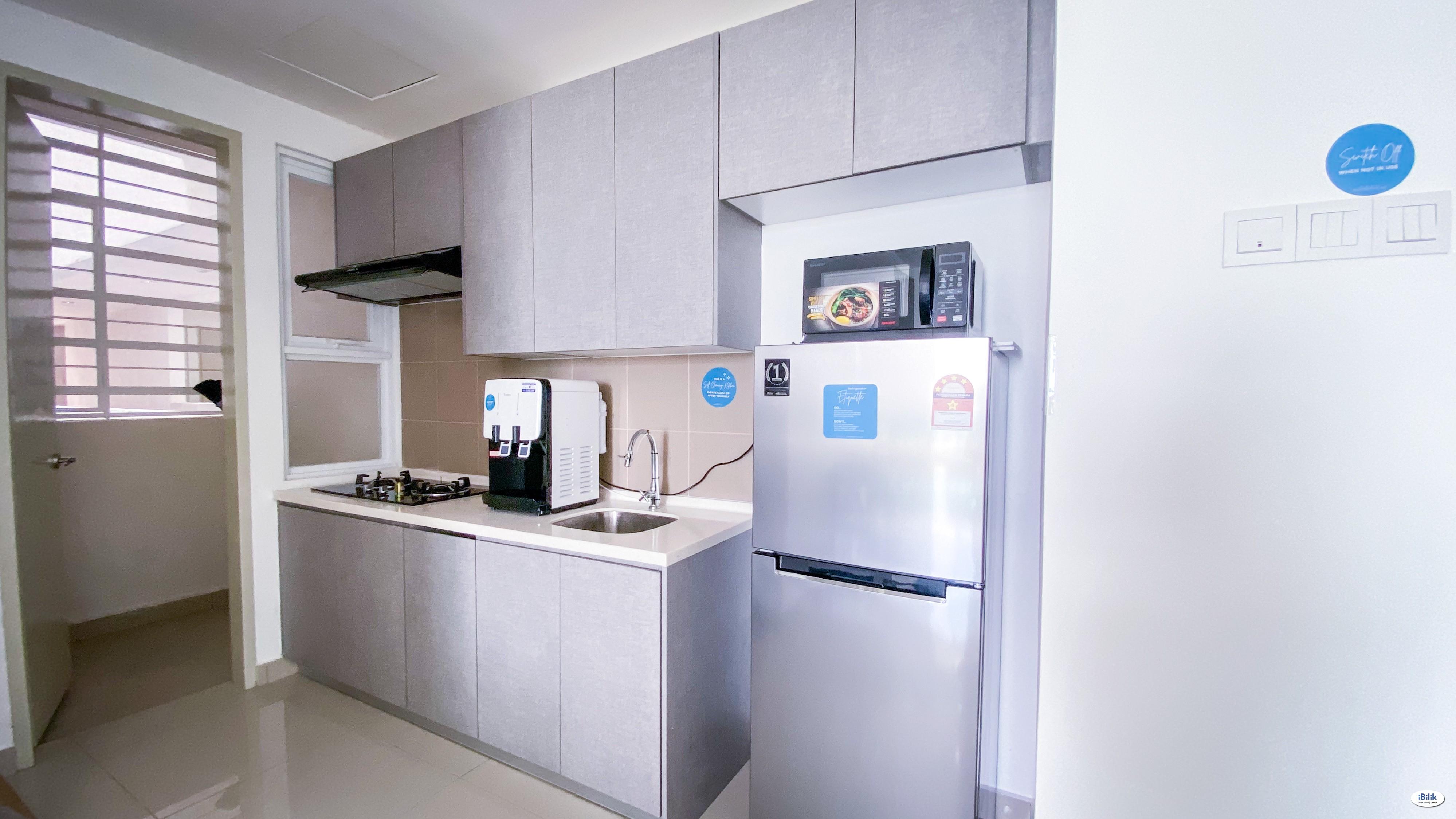 Furnished Single Room at Mutiara Ville, Cyberjaya