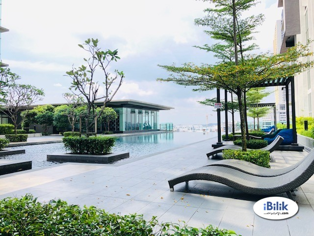 Single Room at 3 Element, Zeva Sfera Sierra Bandar Putra Permai Seri Kembangan Aeon Equine & Pasar Borong UPM
