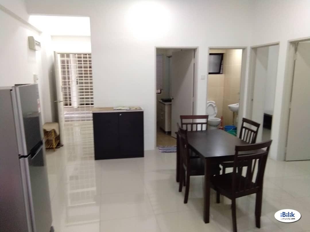 New and Furnished Master Room for Rental at Cahaya Villa Residences