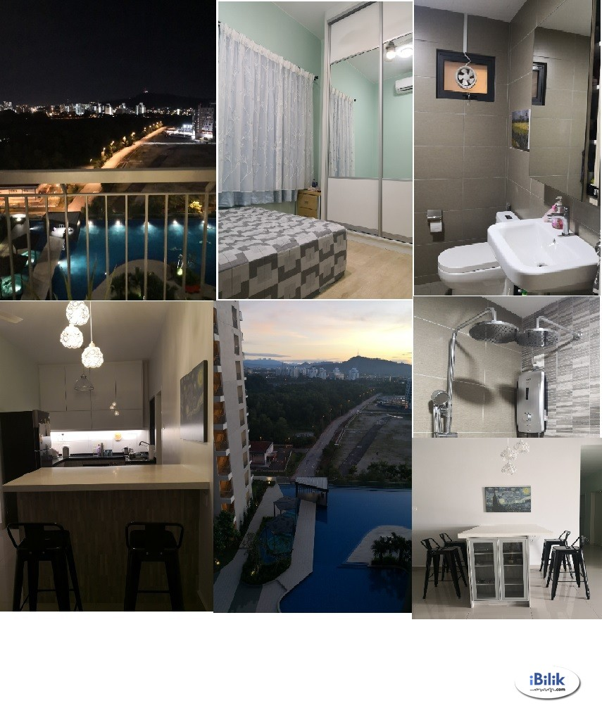 2 Homey Middle Rooms at Parkhill Residence, Bukit Jalil