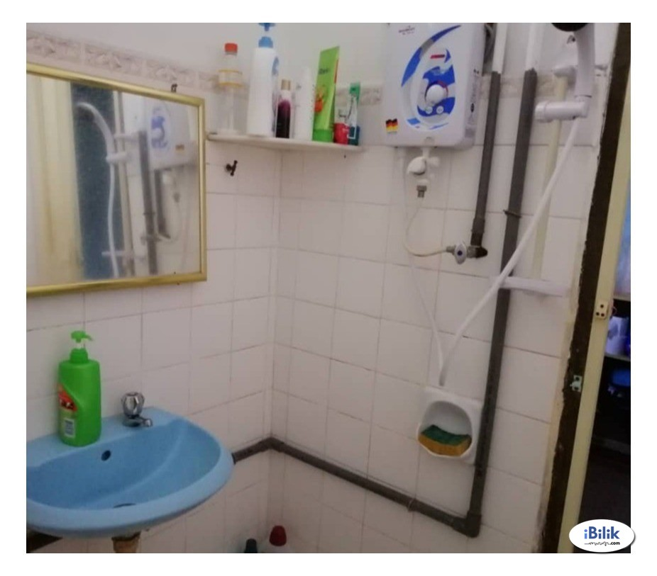 Fully Furnished+Air Cond+Cleaning Service, Bukit Mertajam [SINGLE ROOM]