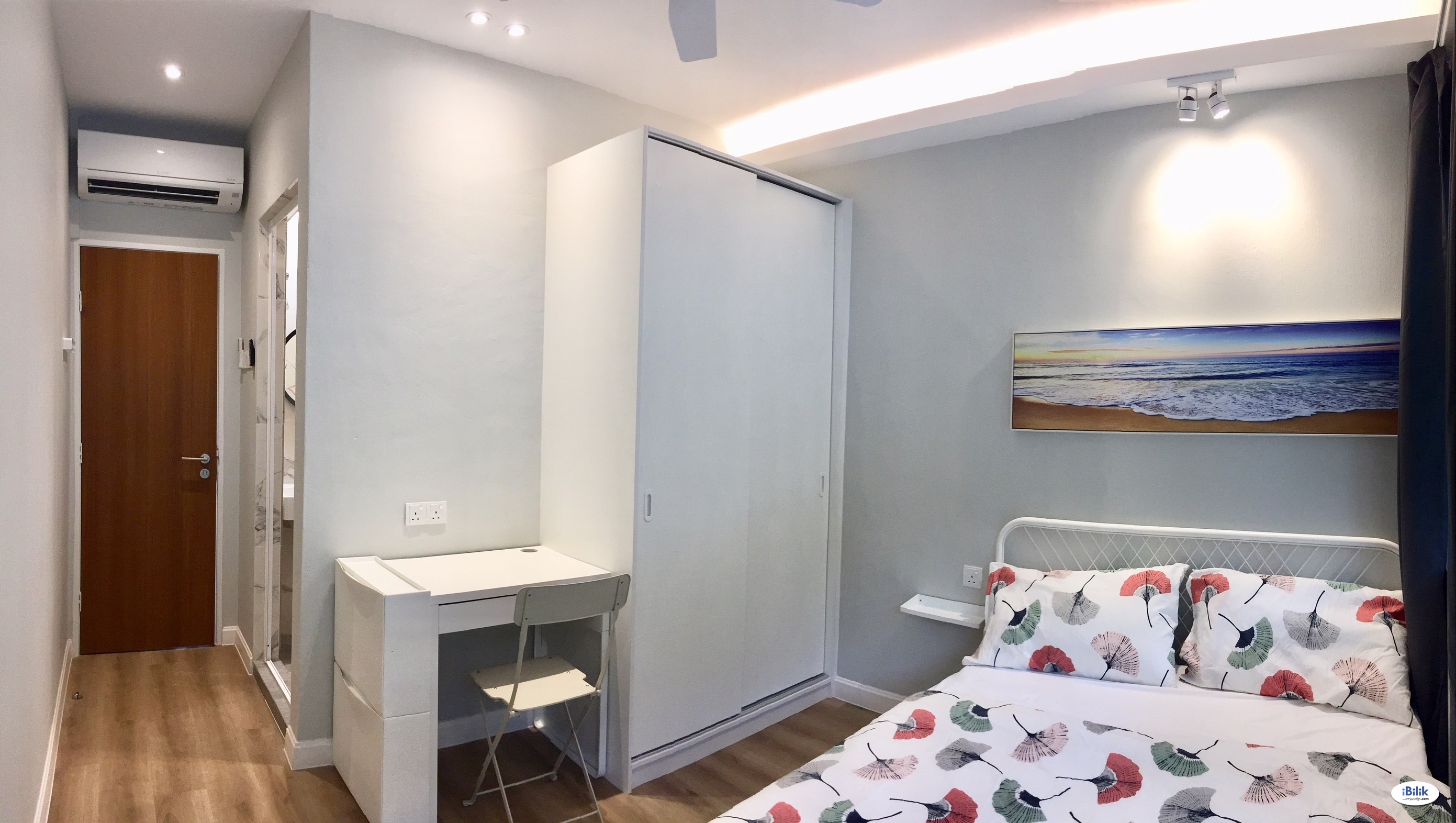 SS5 (PJ), Nice & New Fully Furnished Master Room + Private Attached Bathroom (Free WiFi & Cleaning)