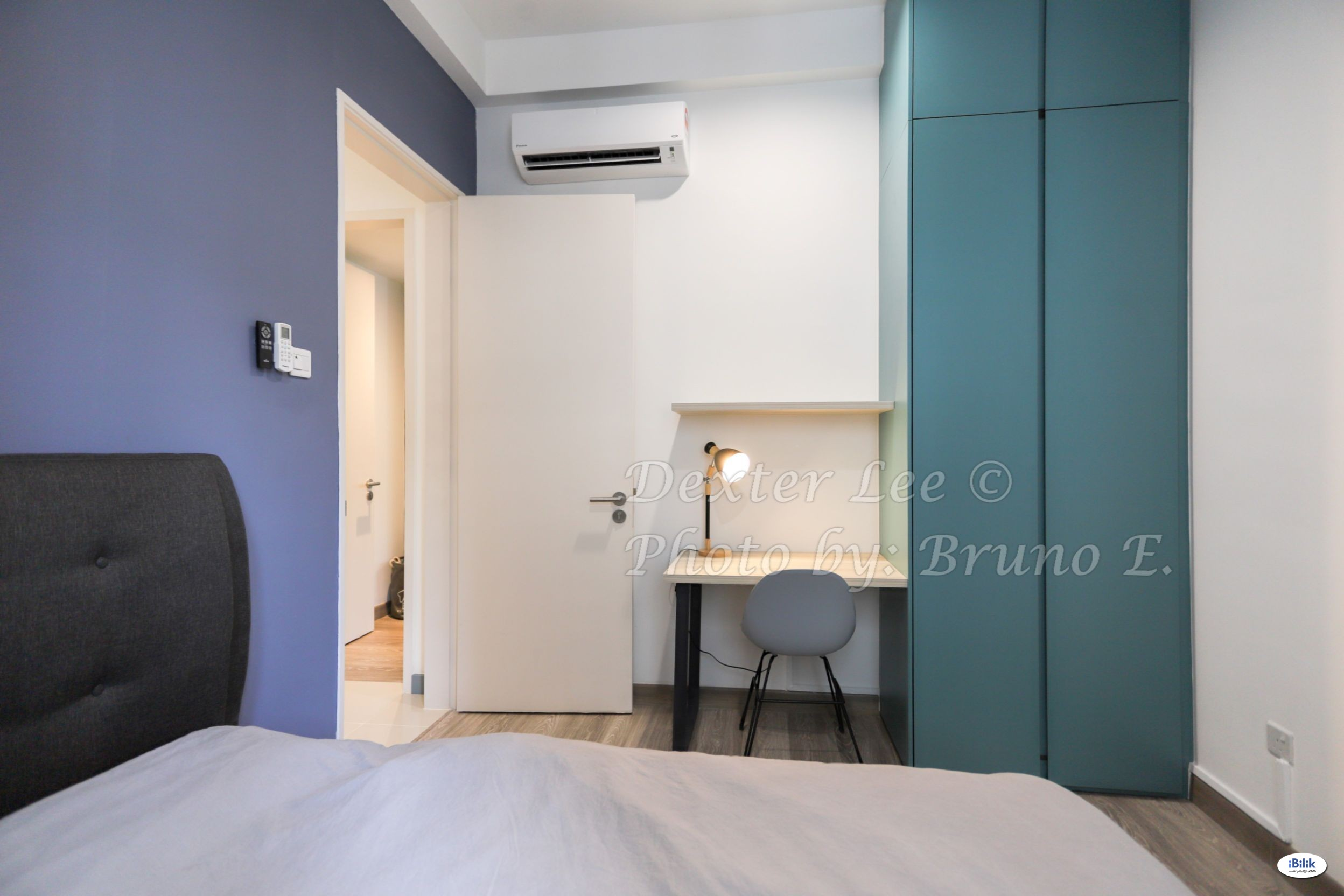 Middle Room with private bathroom at South View, Bangsar South - New, Clean, & fully furnished (VERTICAL/ HORIZON/ MENARA TM/ WISMA CIMB/ SUEZCAP)