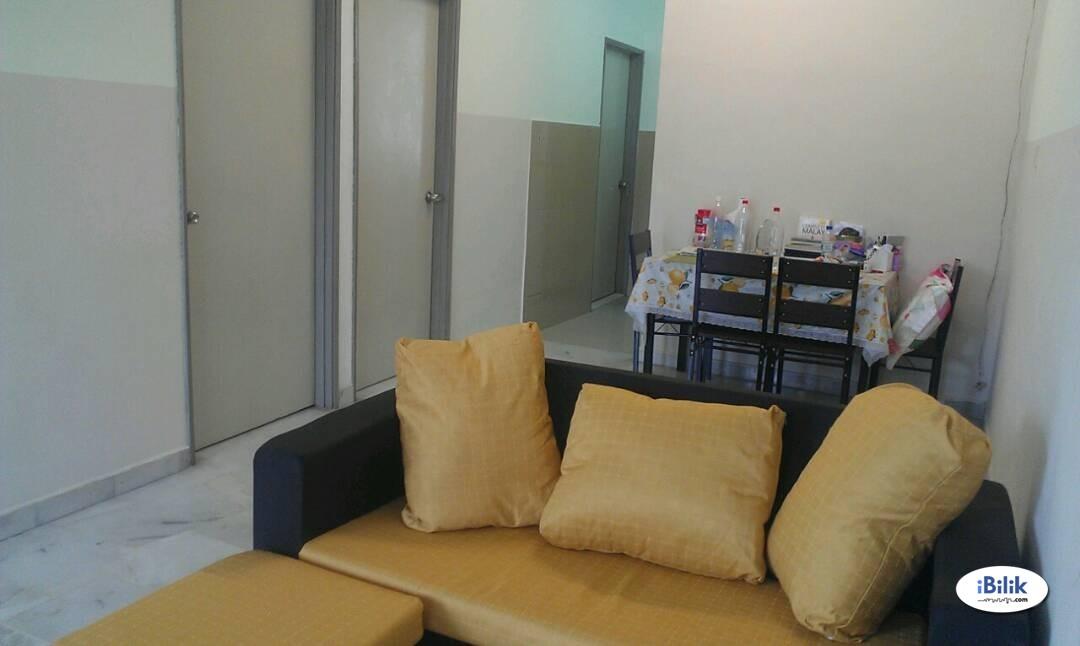 Fully furnished Single Room at Kerapu 6,Permai 3,Seremban near Palm Mall/Hospital Tuanky Jaafar