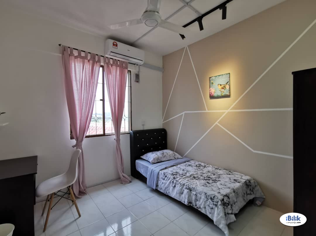 Single Room Fully Furnished include Utilities FREE WIFI