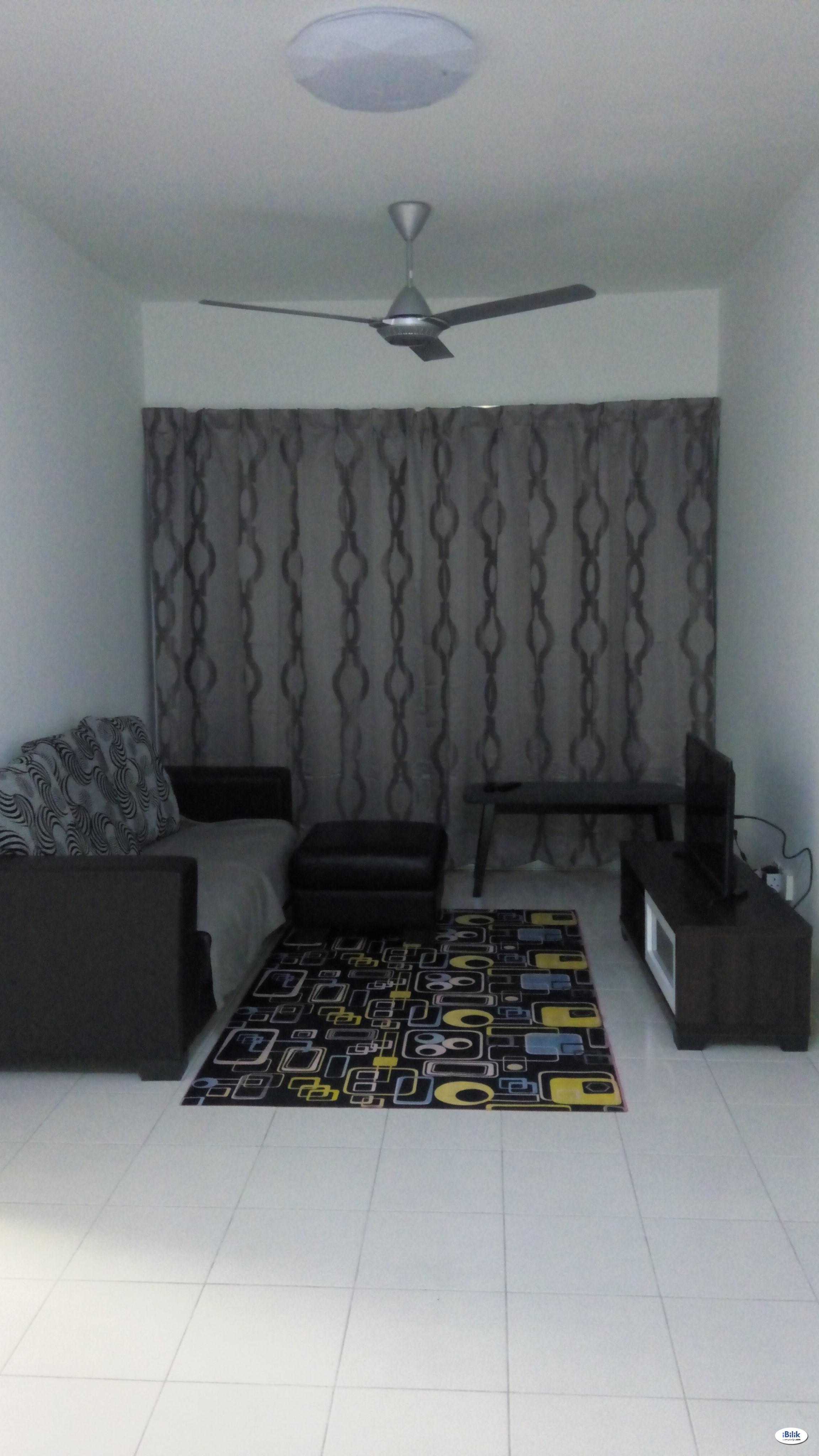 Master Room at Bukit Jalil, Kuala Lumpur (available May 2021)