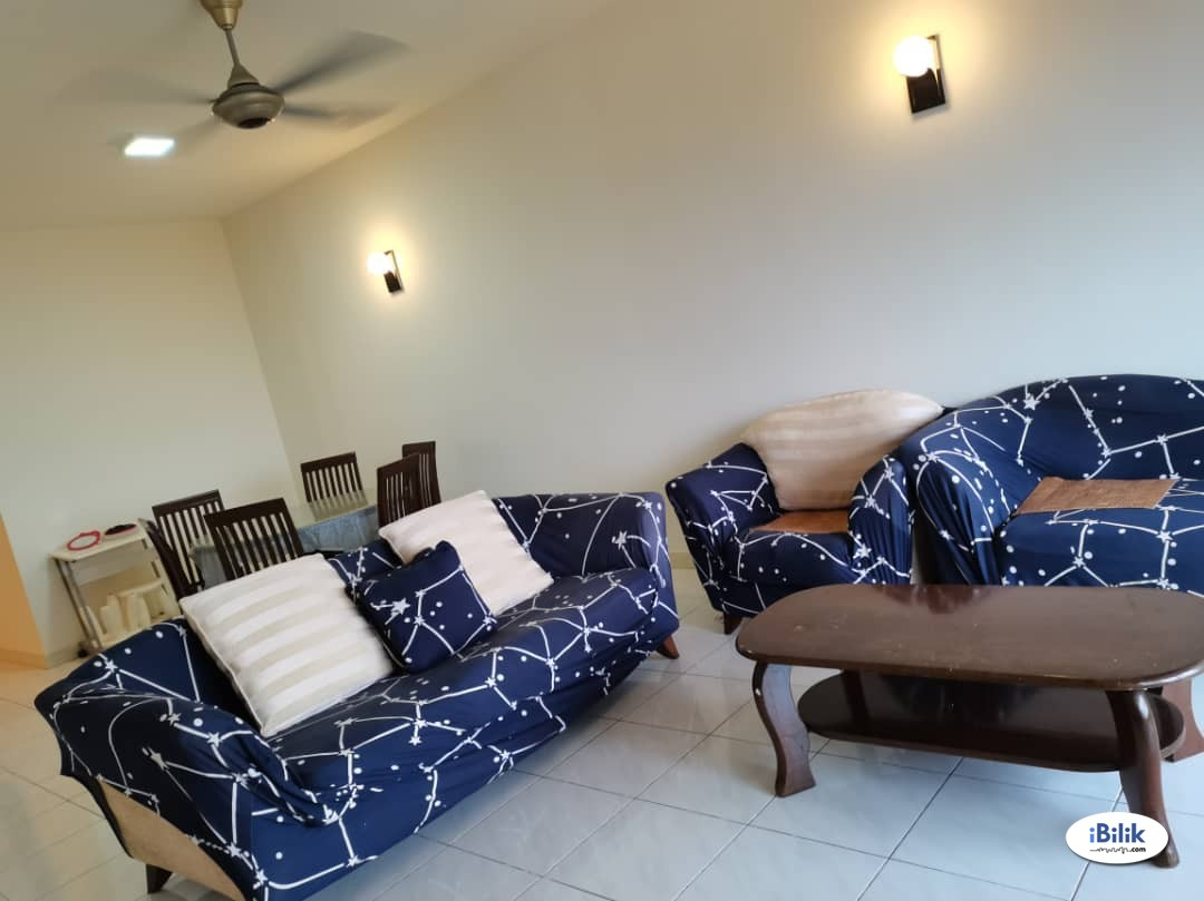 Middle Room in Seri Maya Condo at Wangsa Maju, Setapak next to LRT station