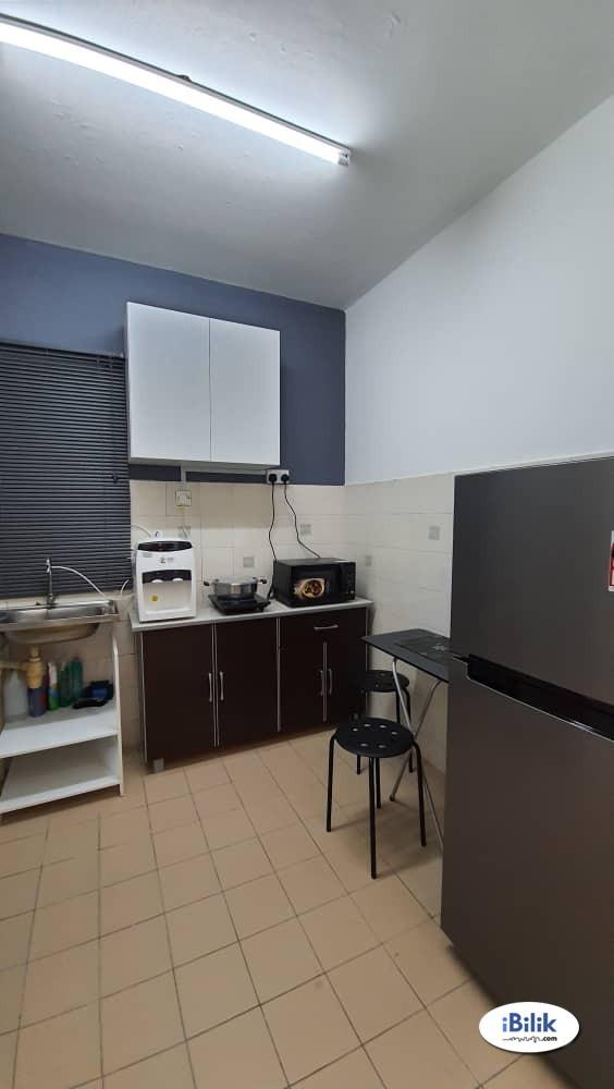 Single Room at Sri Cempaka Apartment @ Bandar Puchong Jaya