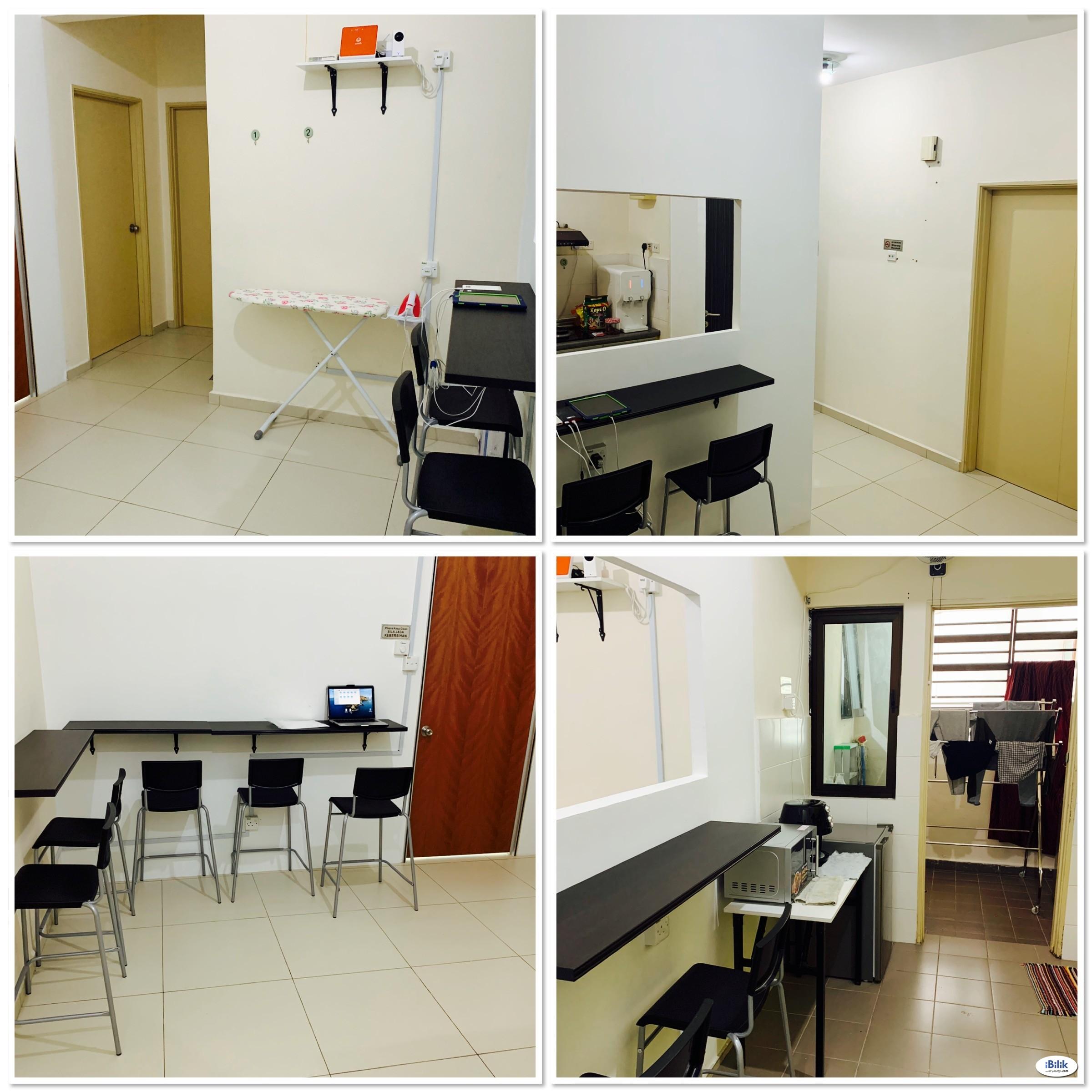 Middle Room at Serin Residency, Cyberjaya