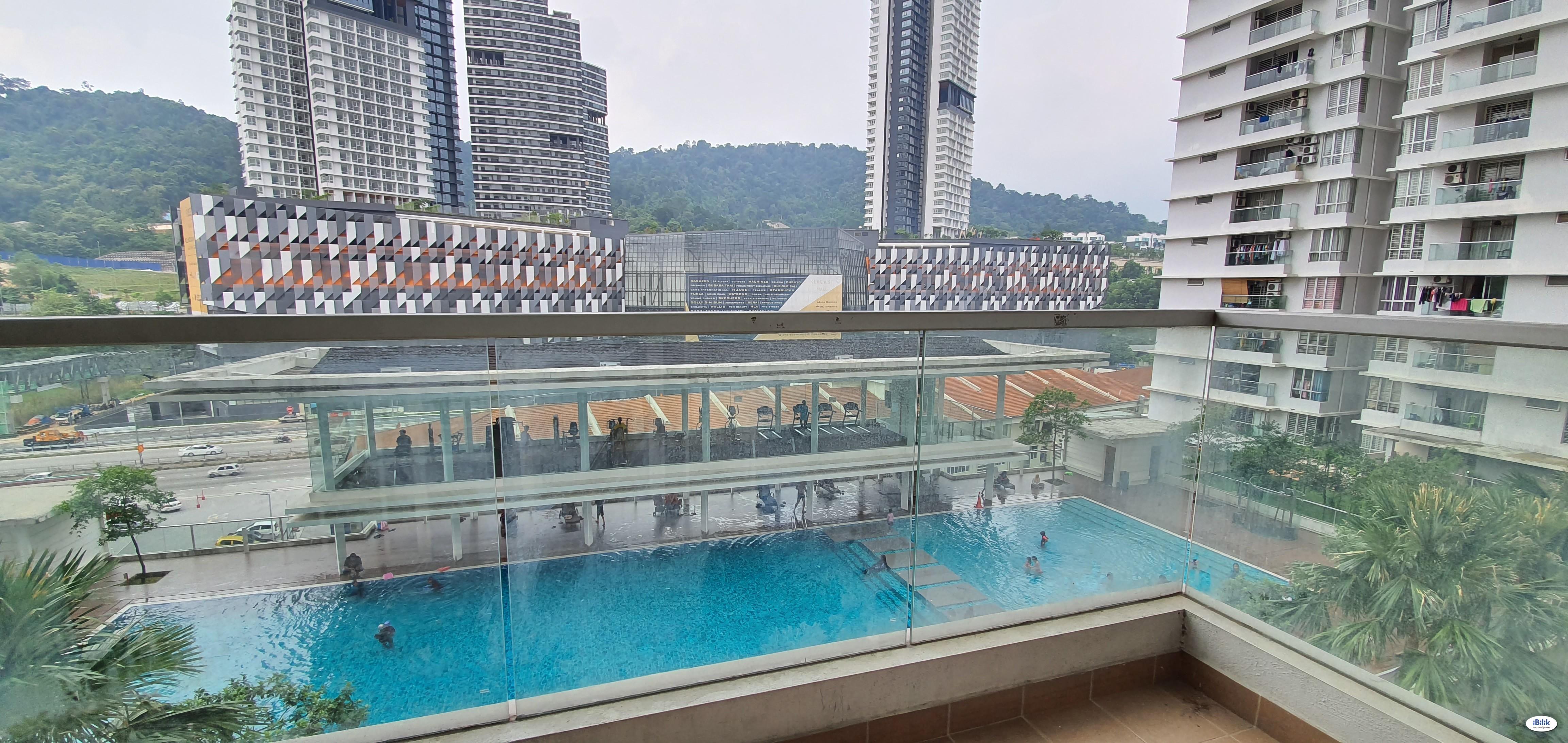 PV2 Condo (Furnished Room) @ KL East, LRT Taman Melati
