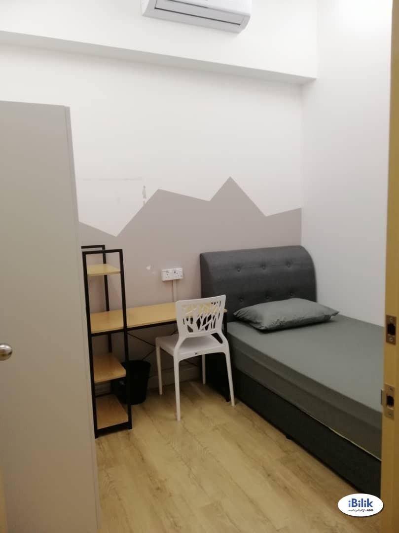 Free 1 Month Rental! Super deal! 🏡 Fully Furnished Single Room at Cova Suites, Kota Damansara, Thomson Hospital, Segi College