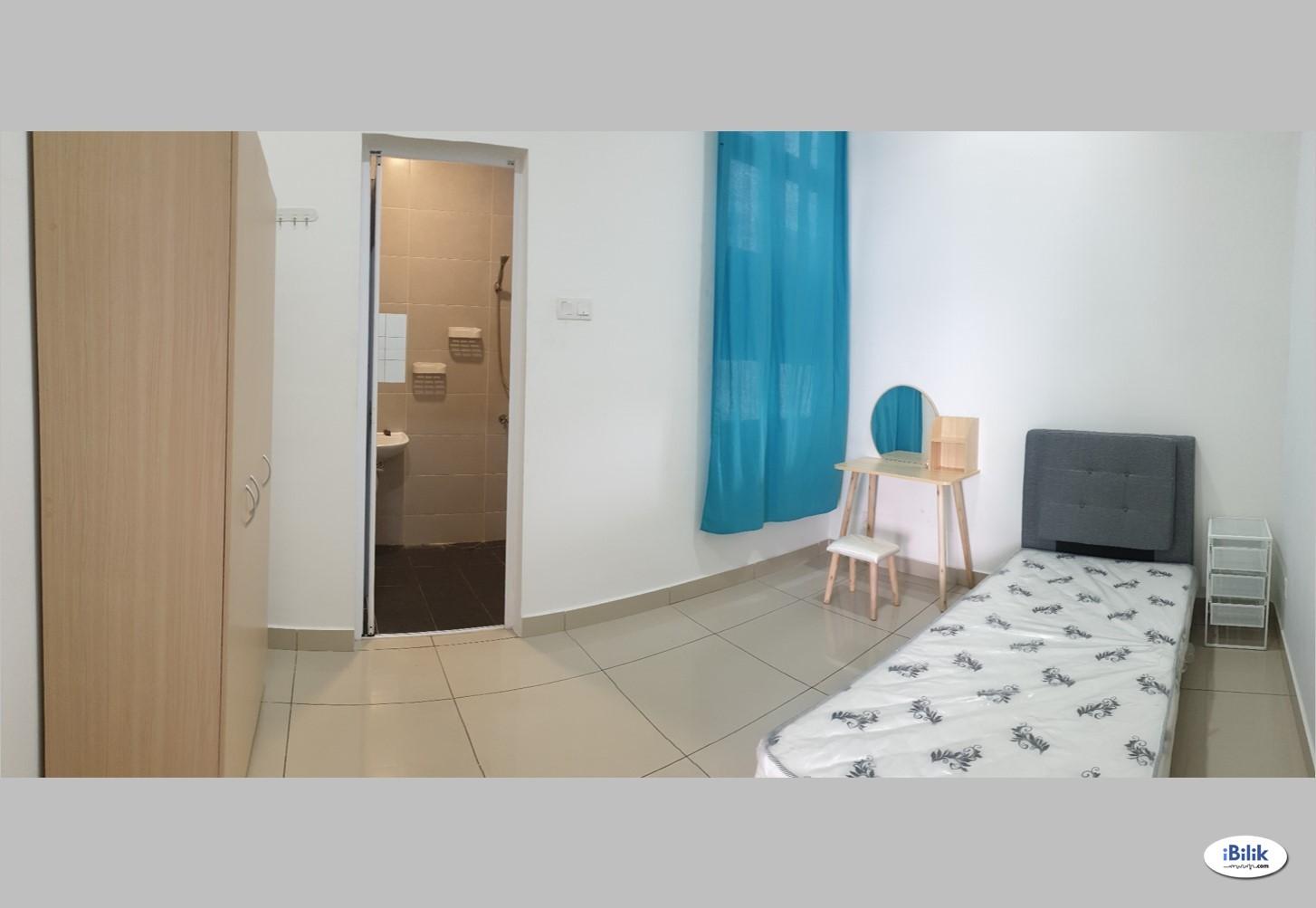 Master Room BM City Mall Condo, Bandar Perda, Bukit Mertajam, Surrounded with Good Facilities & Amenities