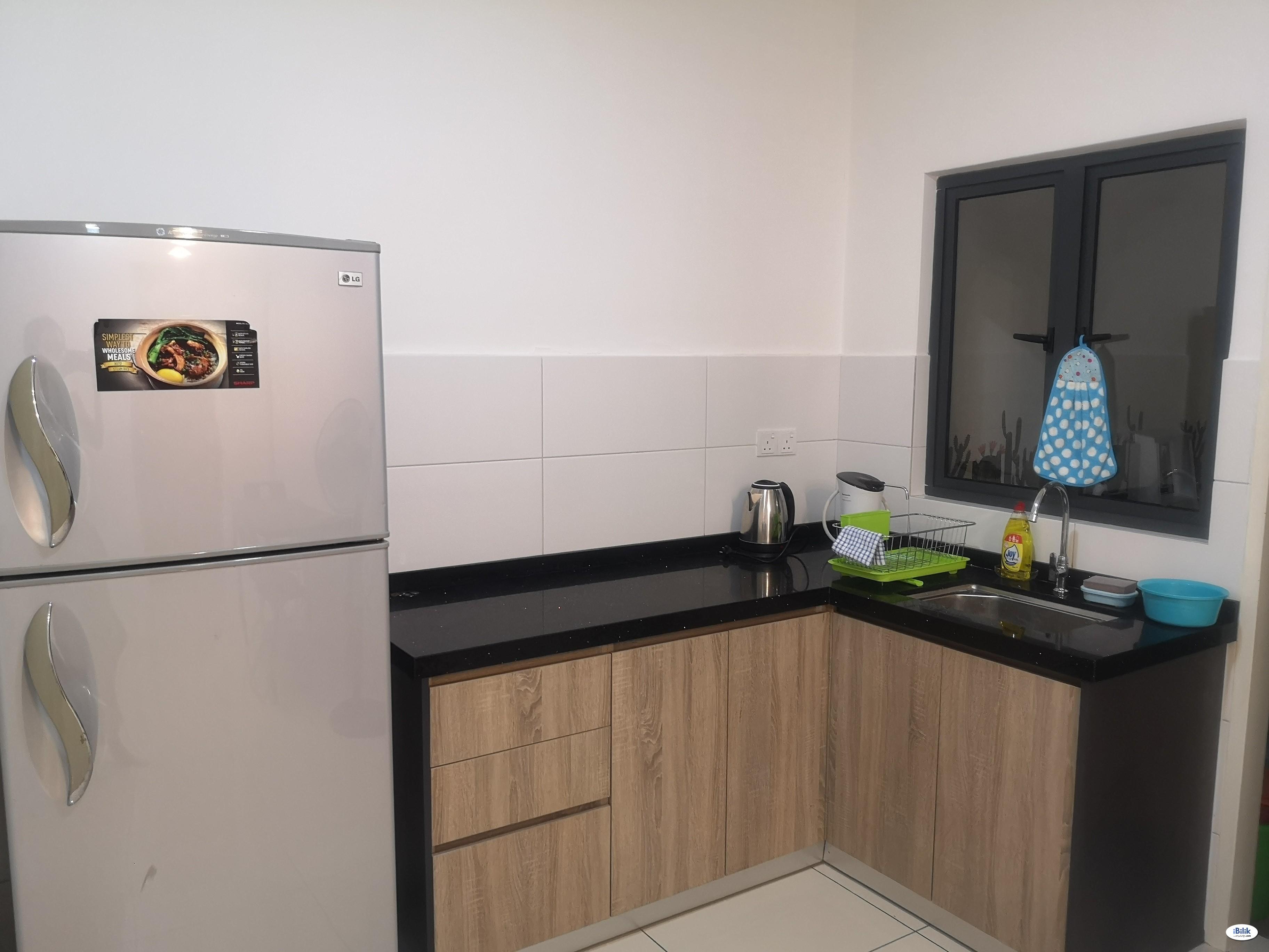 Near to LRT, Fully furnished Single Room at Casa Green, Bukit Jalil