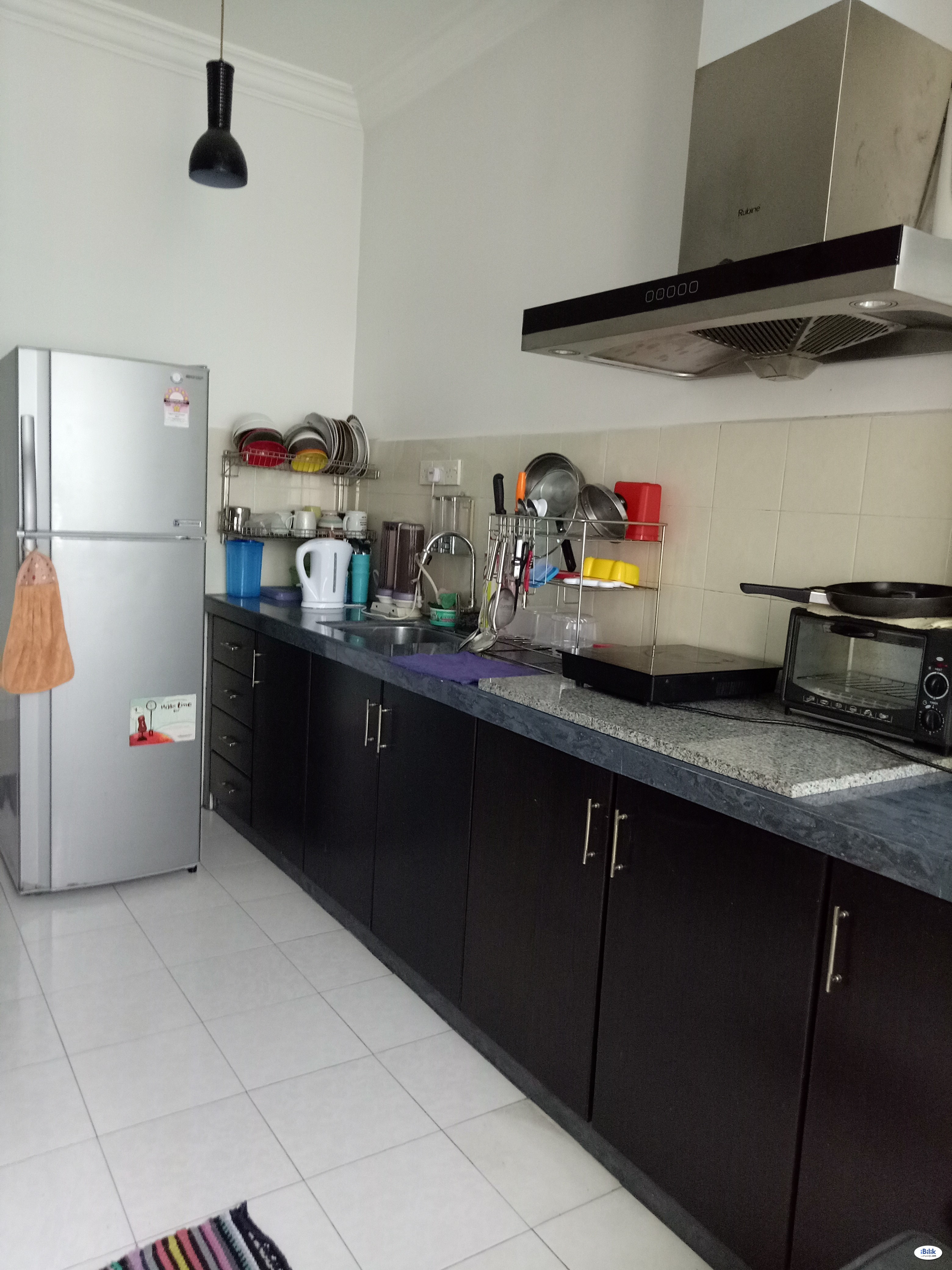 Middle Room at Park View Tower, Butterworth
