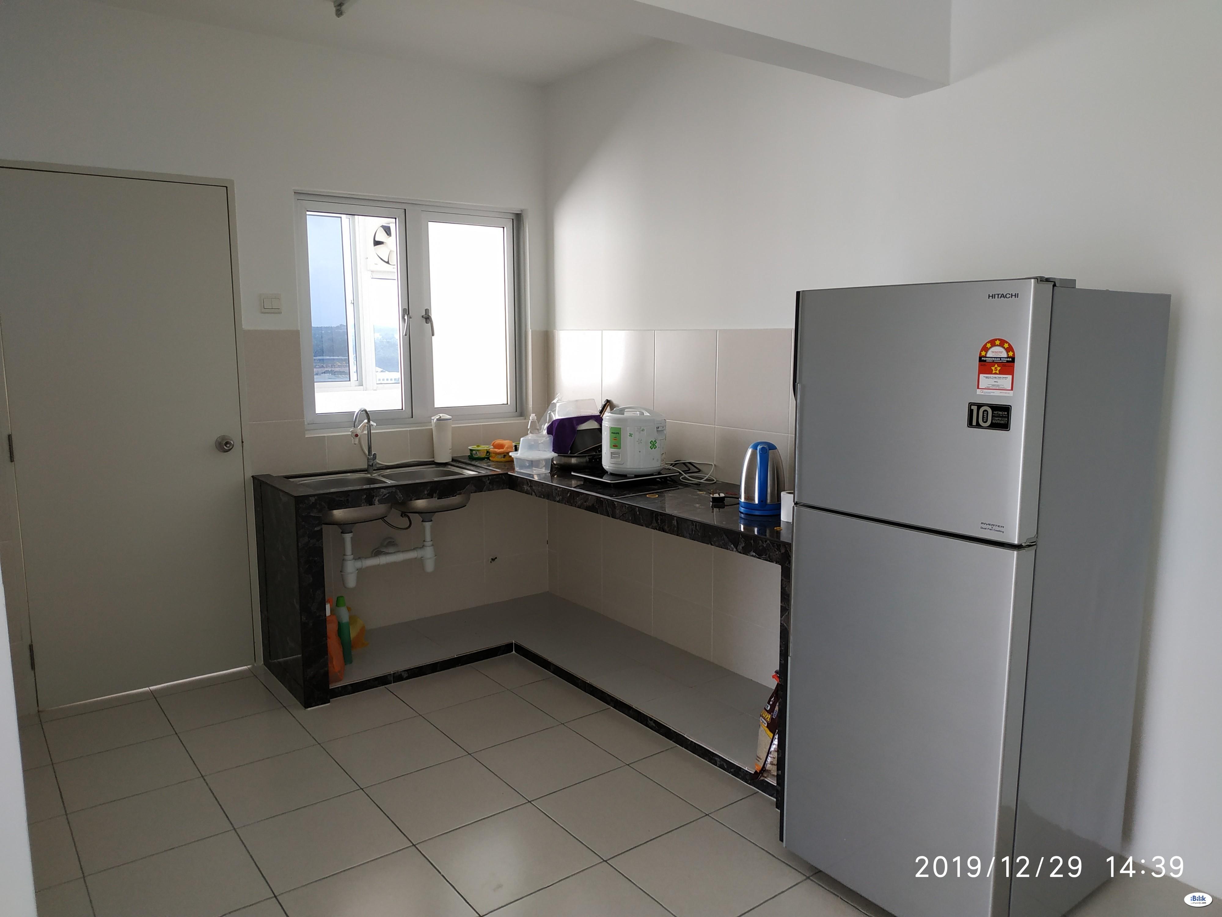 Single Room For Rent at Bukit Jalil, Kuala Lumpur