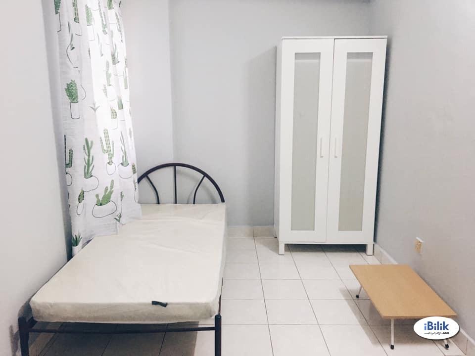 🛌 Middle Room for Rent @ Mutiara Damansara (FREE UTILITIES + AIRCOND + WIFI)