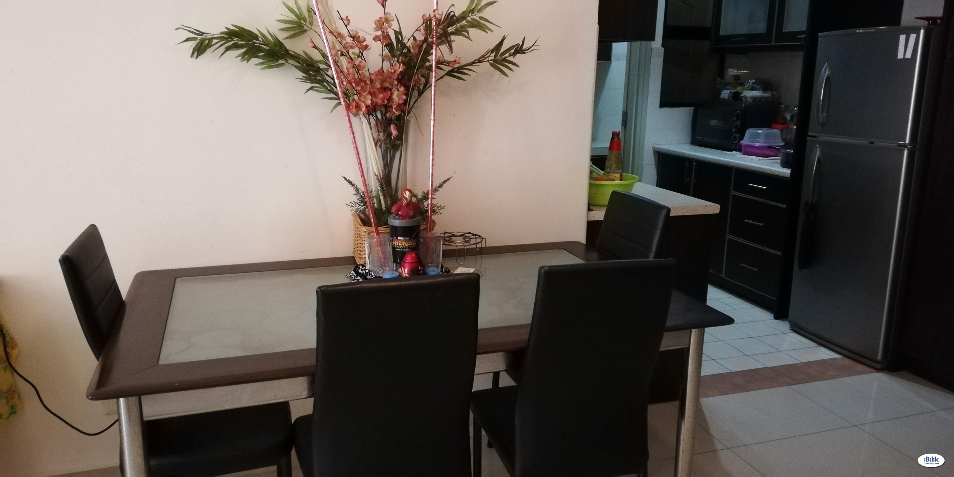 Single Room in a condominium unit