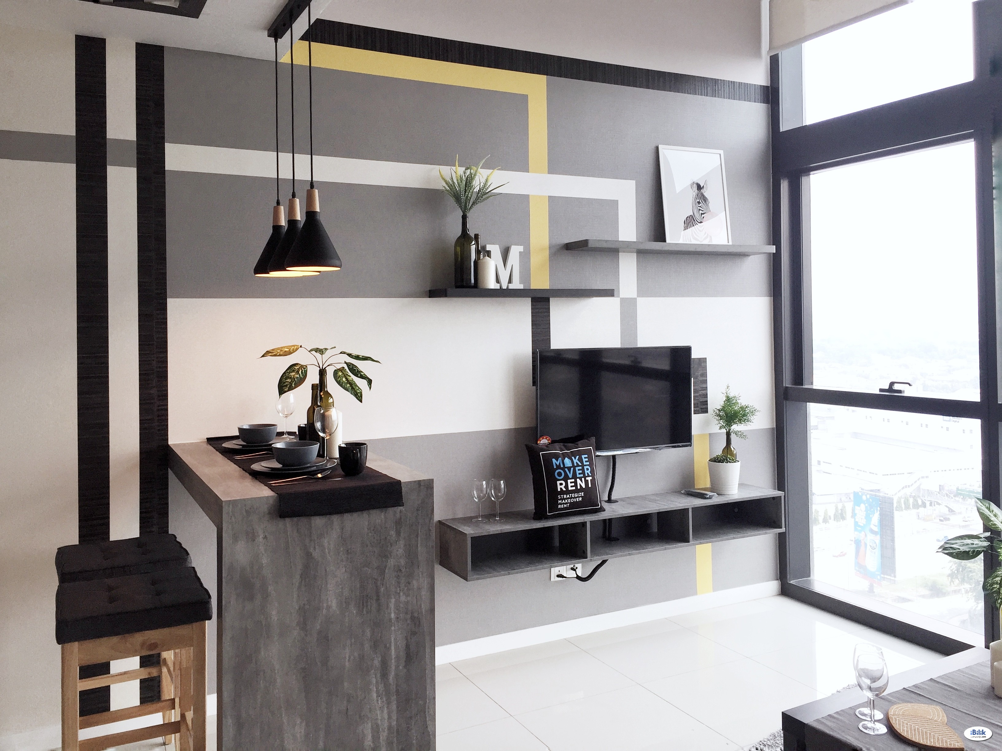 2-6Pax Designed Loft at Icon City, PJ - 5mins to Sunway Pyramids