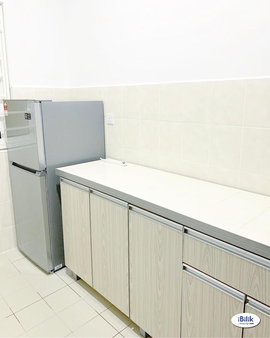 (free parking) Room - Shared Apartment at Boulevard Serviced Apartment, Jalan Ipoh