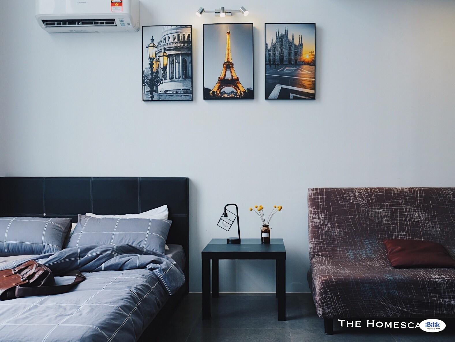 ♞The Homescape♞ 2-5 Pax Comfy Home 5min drive to IKEA/Curve/Kidzania