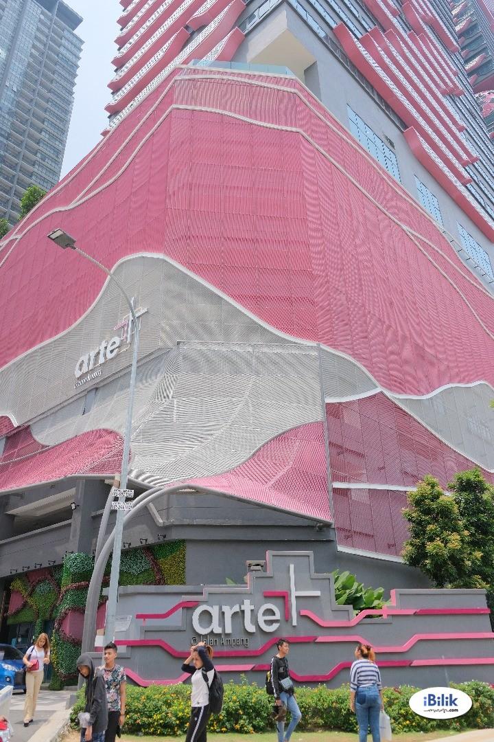 Cozy Arte Plus at Jalan Ampang 4KM to KLCC for 1-6 pax