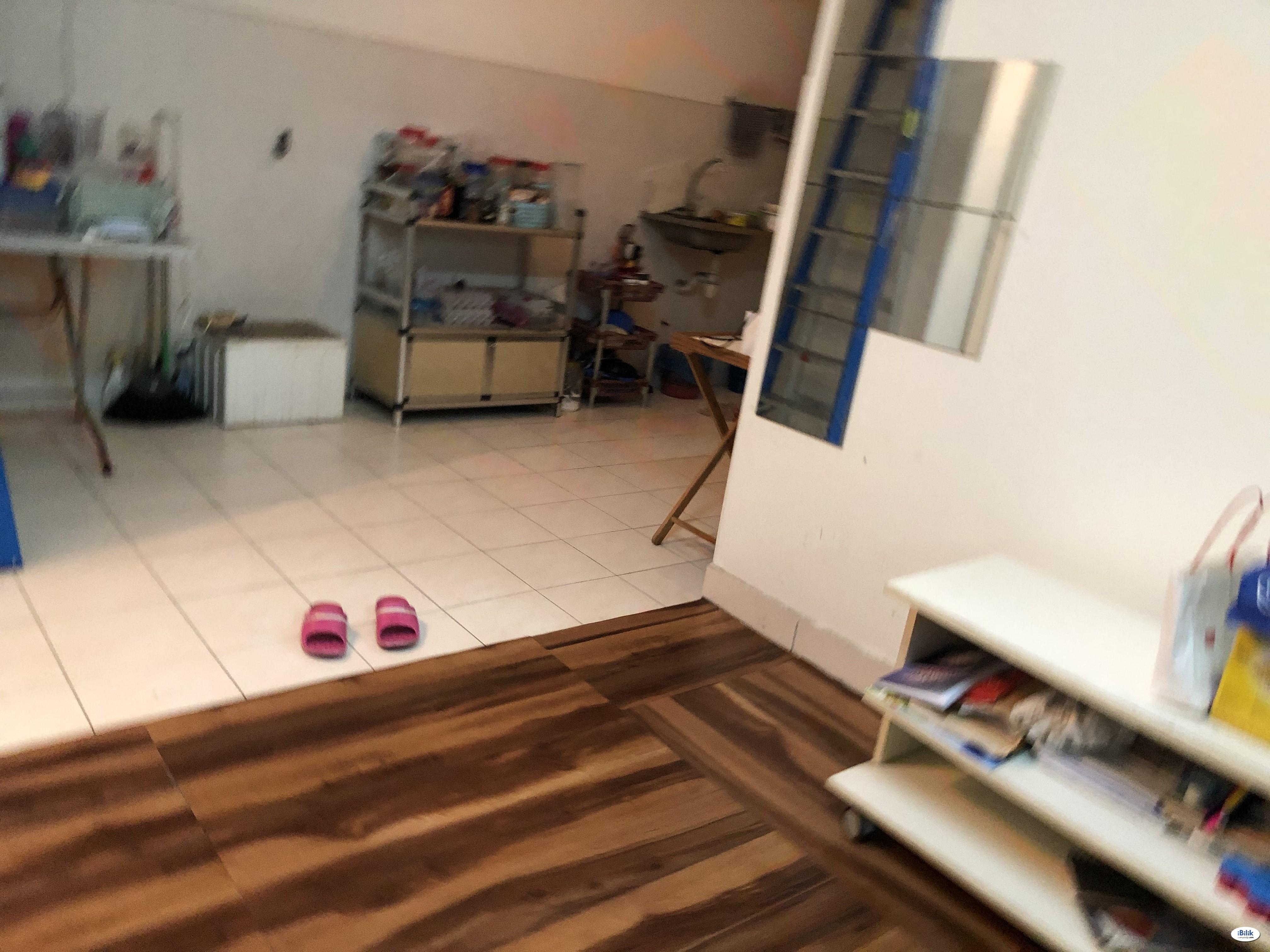 Furnished Room (single female) - Shared Apartment at Taman Melati, Kuala Lumpur