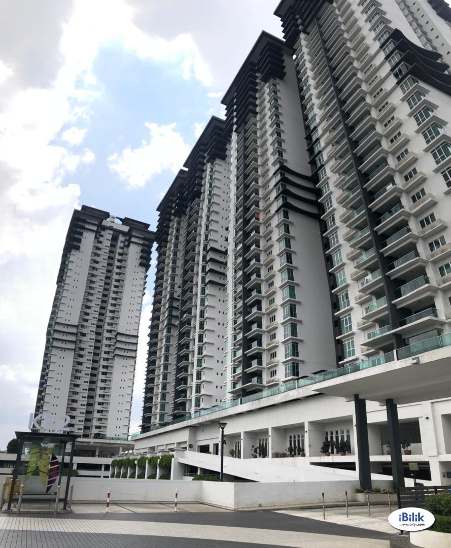Room - Shared Apartment at Kiara Residence 2, Bukit Jalil. Walking distance to Awan Besar LRT