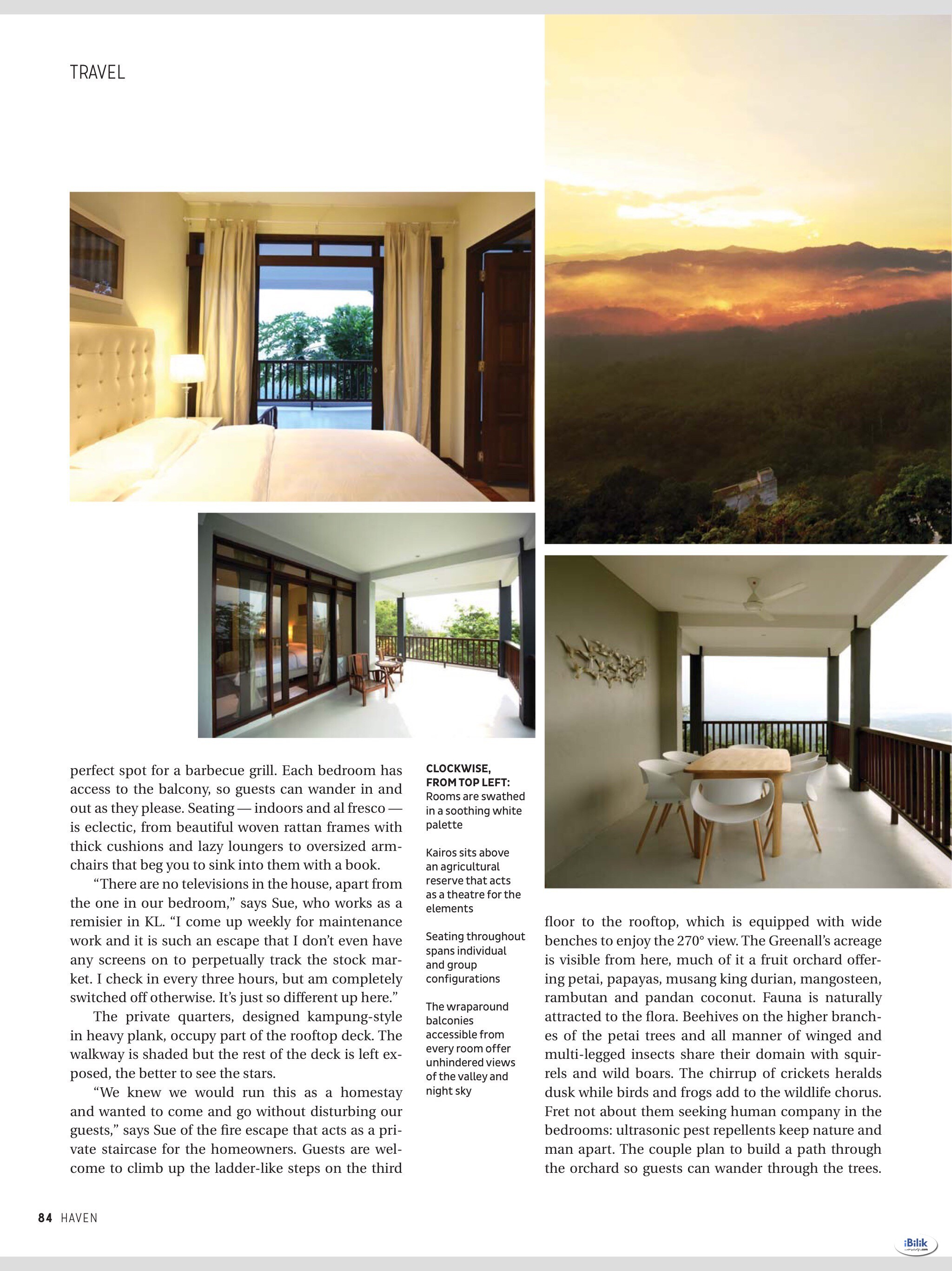Abundance: Queen room with attached bath @ Kairos Villa, Jalan Pantai, Seremban