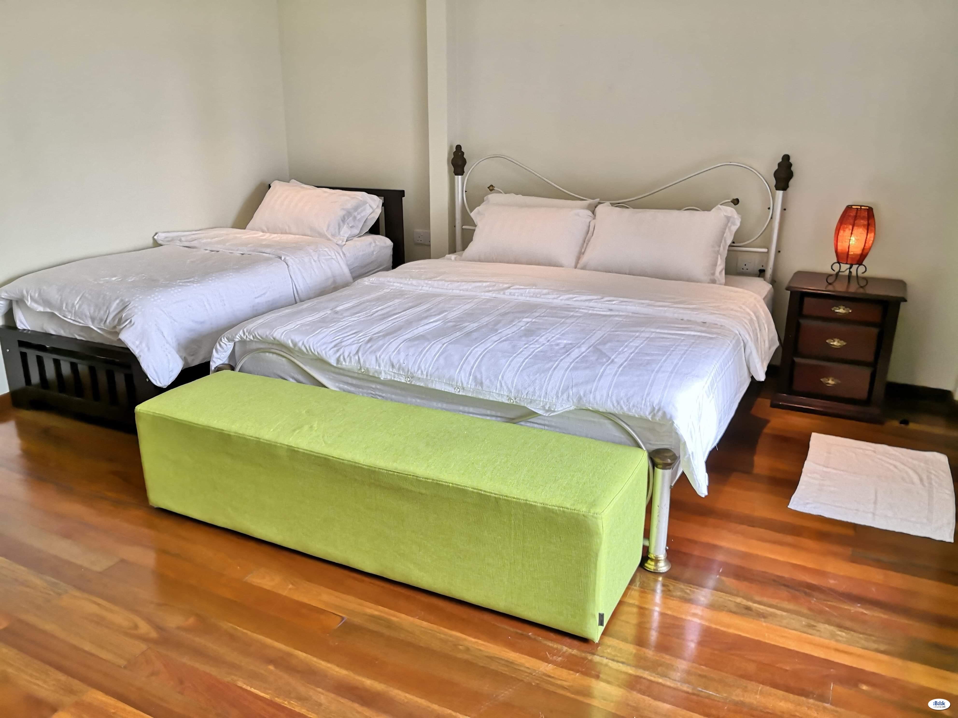 Angelic,  King and Single invalid-friendly Room, Kairos Villa at Pantai, 71770 Seremban Seremban,