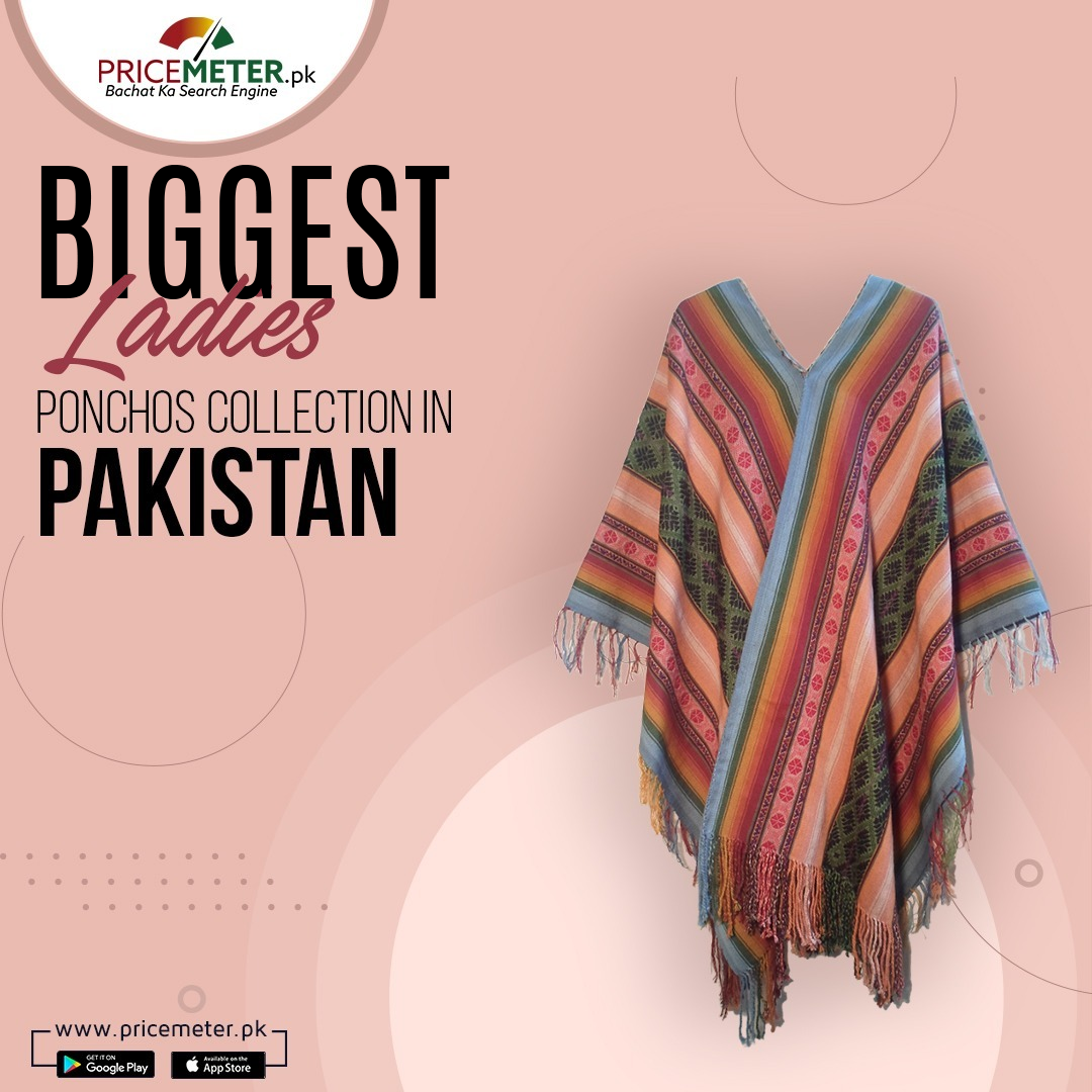 Biggest Ladies Ponchos Collection in Pakistan