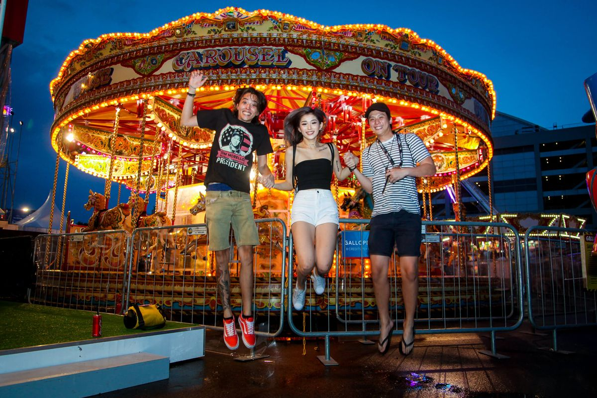 4 things you can do with your squad at #PruCarnival!