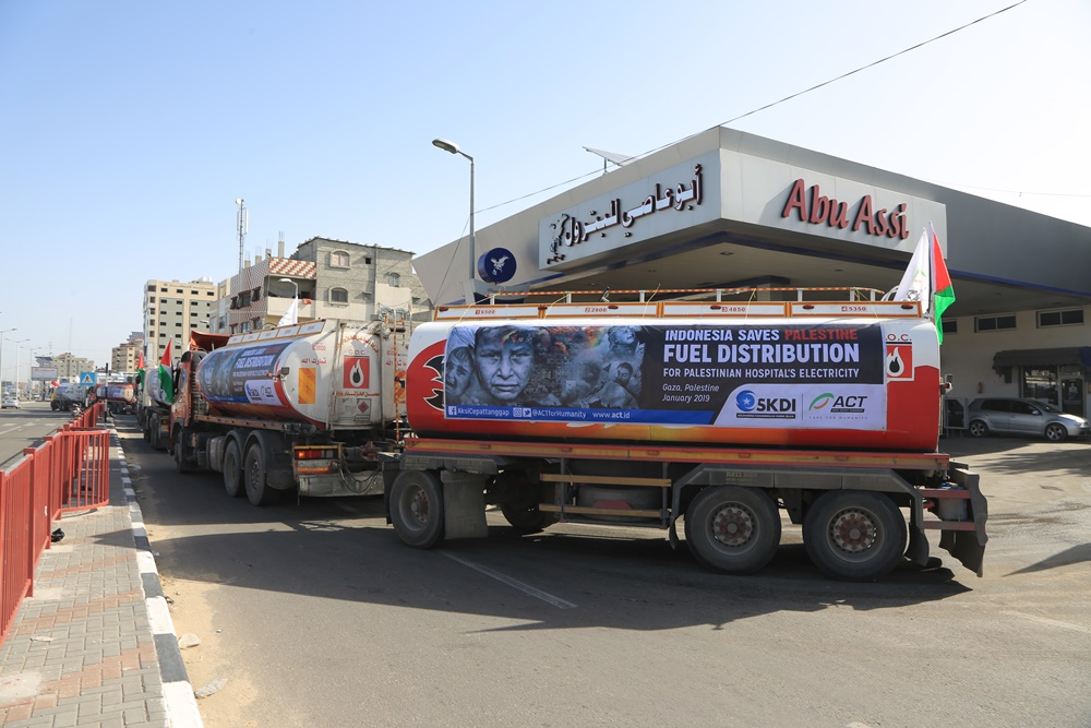100,000 Liters of Fuel to Save Patients' Lives in Gaza's image