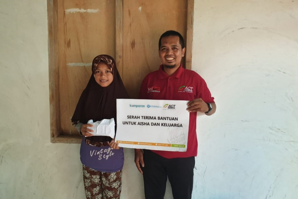 ACT Collaborates with Kumparan to Help Aisha Continues Her Study