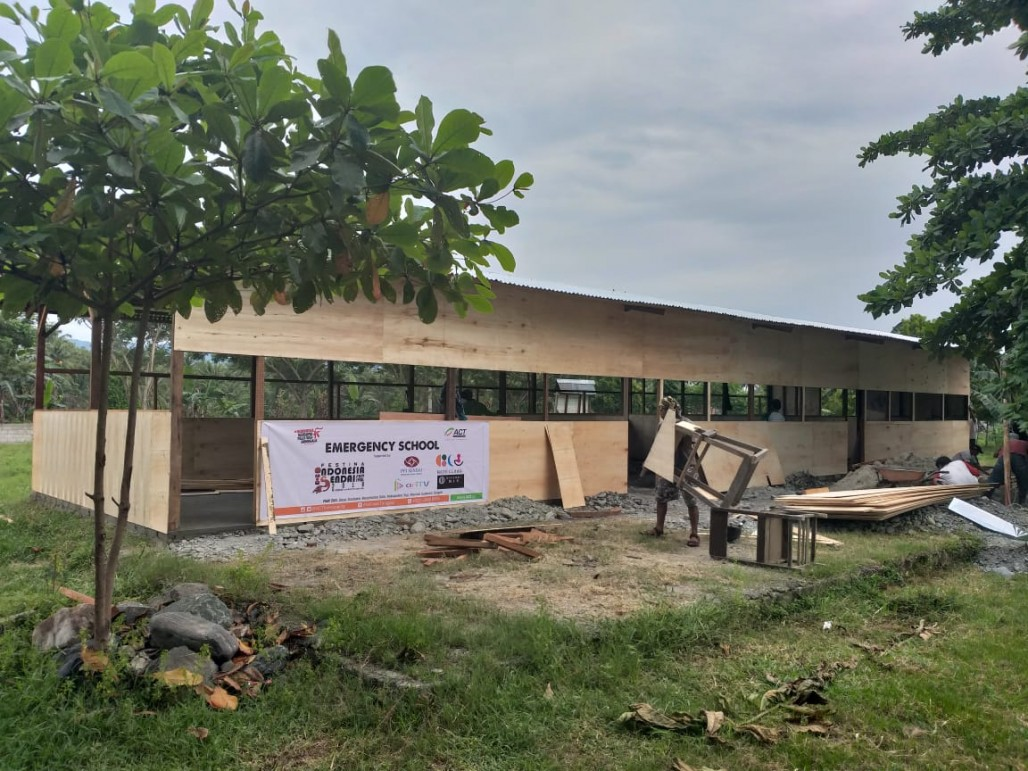 Still Working to Rebuild Central Sulawesi, ACT Constructs Dozens of Classrooms' photo