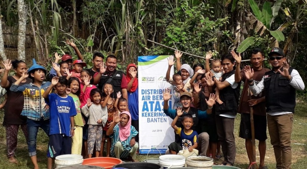 40,000 Liters of Clean Water to Overcome Drought in Pandeglang' photo