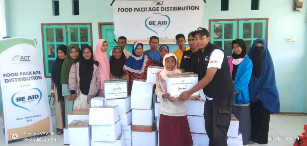 Food Supplies Alleviate the Suffering of South Halmahera Residents's image